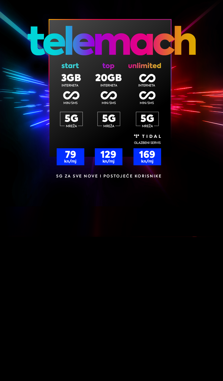 5G mobilni paketi
