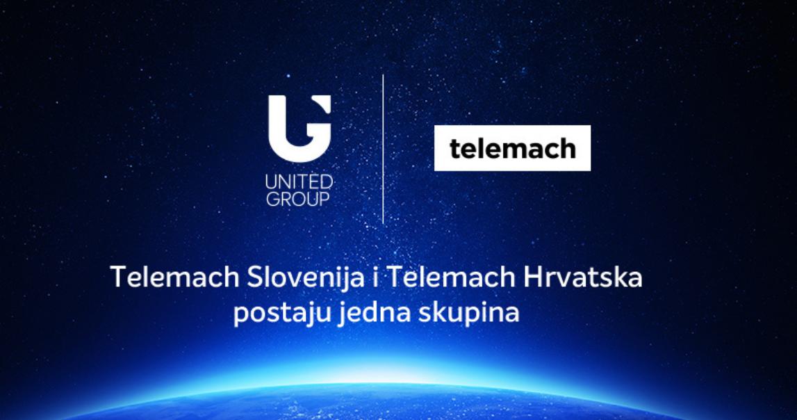 United Grupa: Telemach Slovenija i Telemach Hrvatska postaju jedna skupina