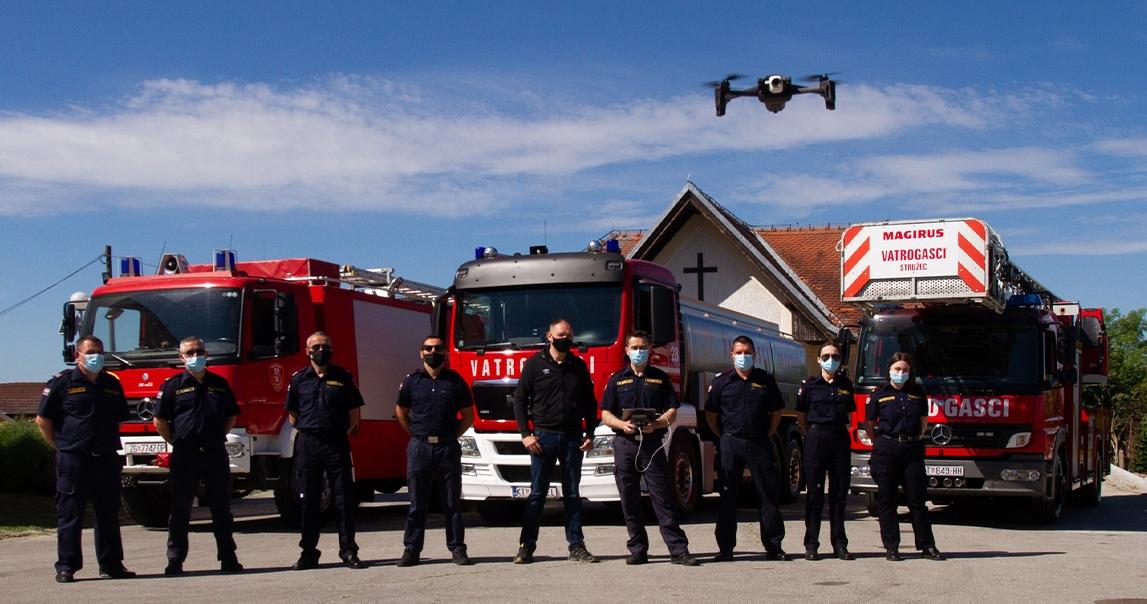 Donacija drona Dobrovoljnom vatrogasnom društvu Stružec za nadolazeću protupožarnu sezonu
