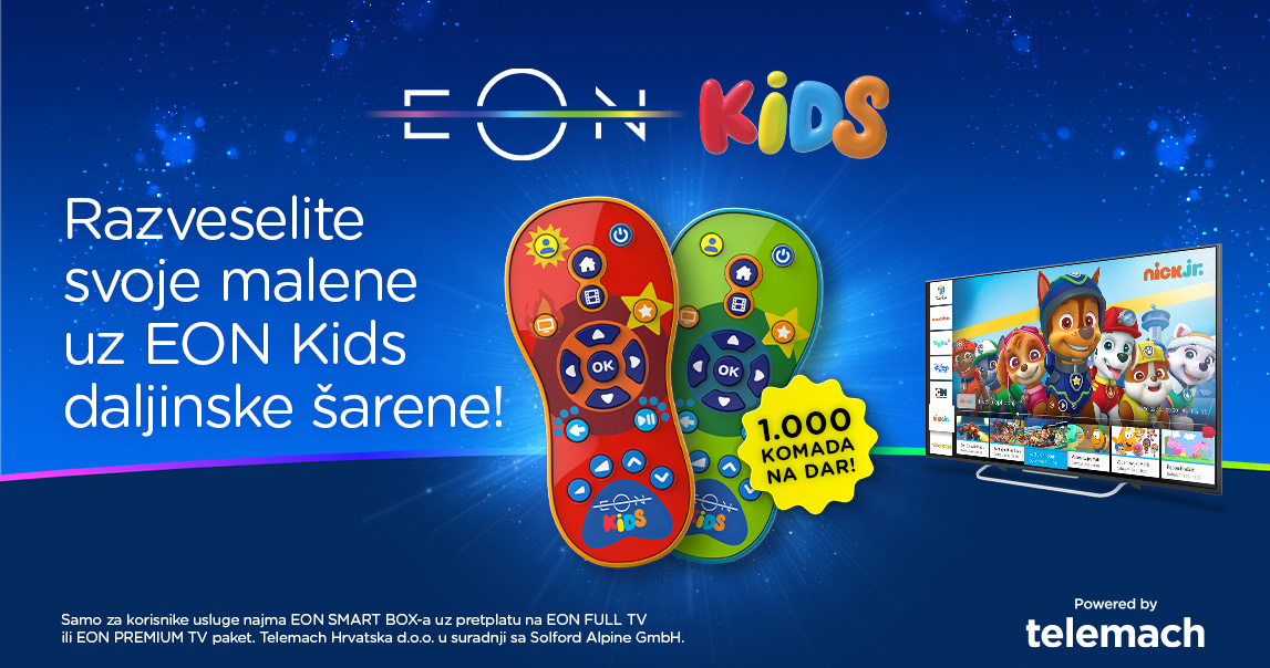 EON platforma dostupna je na tržištu od preko 40 milijuna ljudi