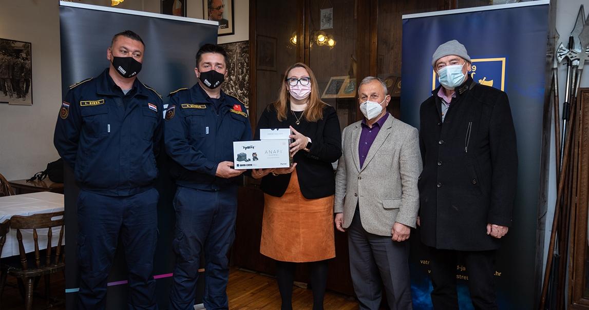 Donacija drona Dobrovoljnom vatrogasnom društvu Jastrebarsko za nadolazeću protupožarnu sezonu