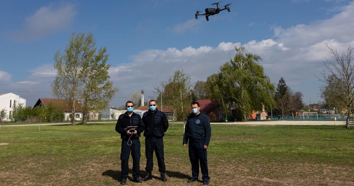 Donacija drona Dobrovoljnom vatrogasnom društvu Legrad za nadolazeću protupožarnu sezonu
