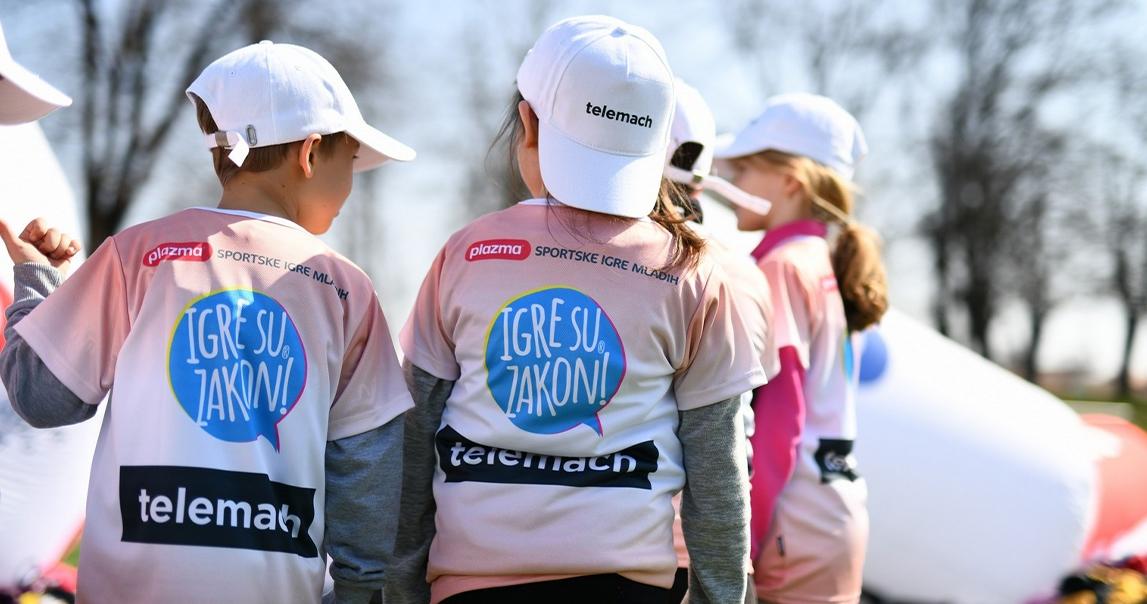 U Petrinji održan prvi Telemach Dan sporta